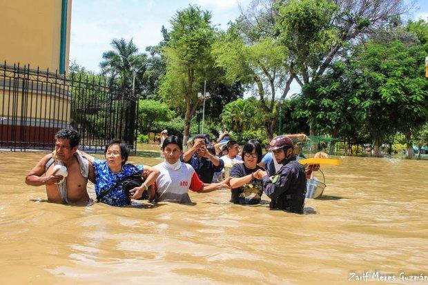 Este es el drama que vive Piura tras las fuertes lluvias e inundaciones