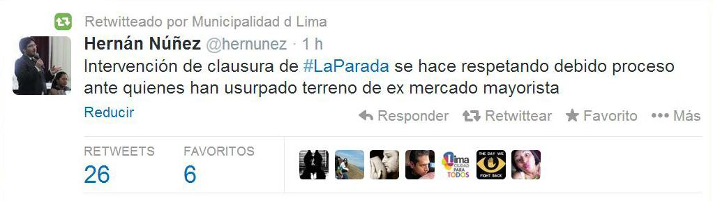 Noticia Envivo Municipalidad De Lima Clausura El
