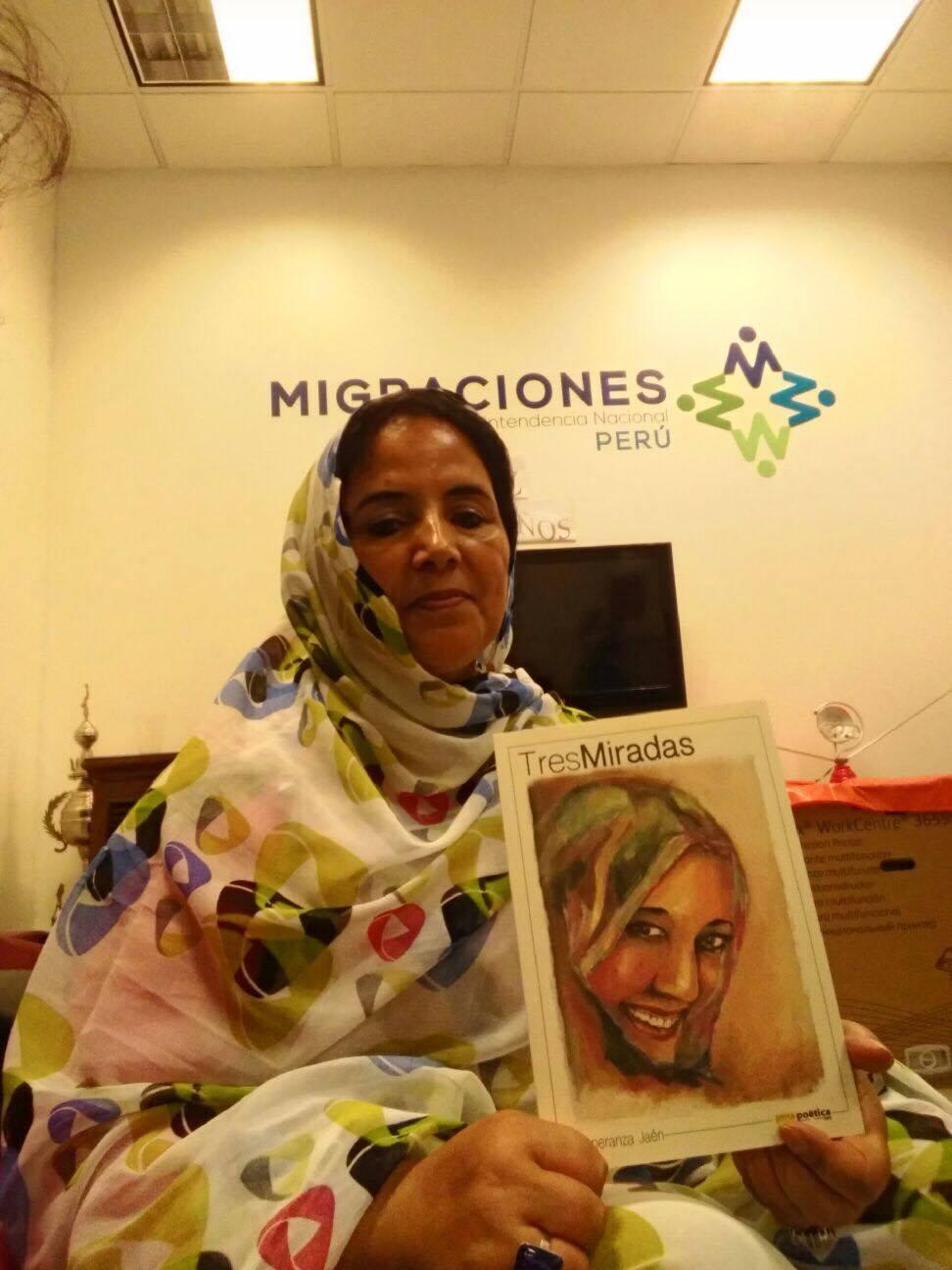 Post Embajadora Saharaui Anuncia Huelga De Hambre Por